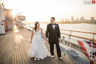 Queen Mary Long Beach Wedding Photography Los Angeles Photos_