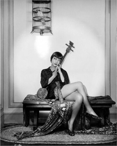 Print of Anna May Wong in Piccadilly (1929)