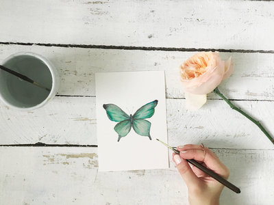 Flower Art Tutorial