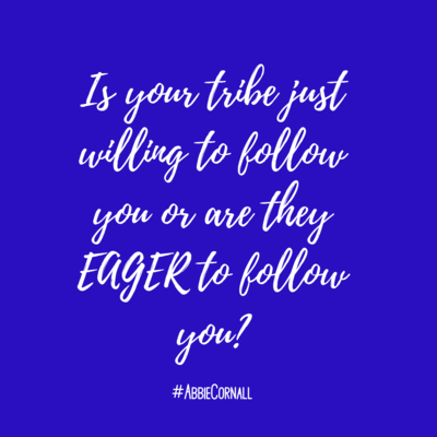 Is your tribe just willing