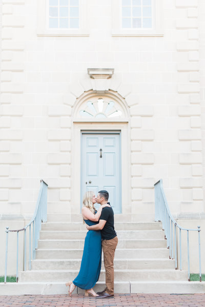 Courtney & Jose - Engagement Session - Old Town Alexandria-50