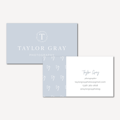 Taylor Gray Photography social media_IG FEED BUSINESS CARDS