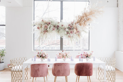 pink-neutral-Floral-installation-indianapolis-solstice-floral