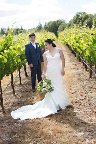 vineyard wedding,  Boatique winery