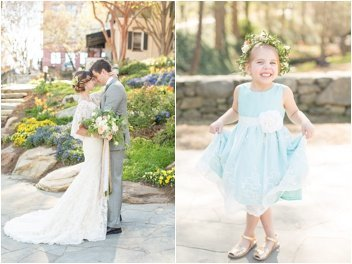 wedding in downtown Greenville
