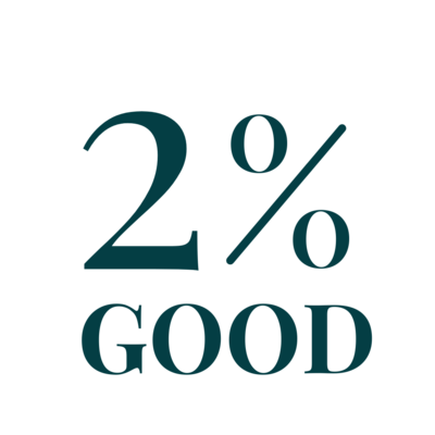 2% PLEDGE LOGO