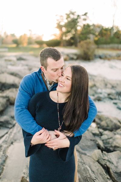 Nh engagement beach  new england maine boston bride wedding photographer  Esra Y Photography-1-7