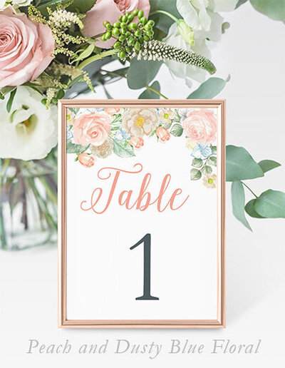 Peach_Blue_Floral_Table