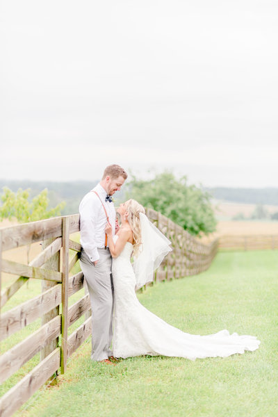 walkers overlook pastel wedding by chesapeake charm photography