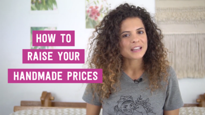 How to raise your handmade prices Youtube (1)