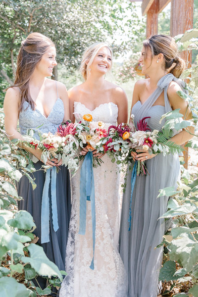 Dusty Blue Styled Shoot Columbus Ohio