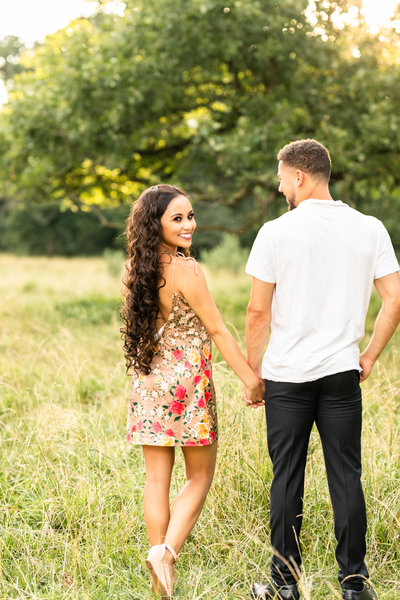 Kankakee County Farm Engagement Photographer