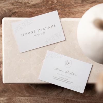 Simone McAdams Photography social media_IG FEED BUSINESS CARDS