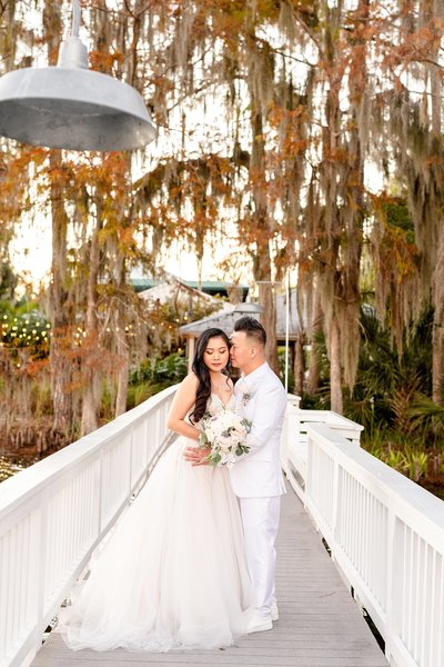 Wedding on a Lake | Orlando Wedding Photographer