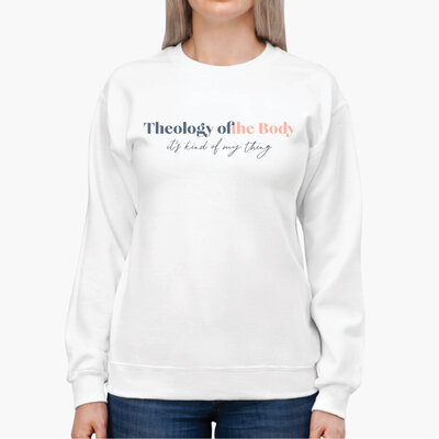 Womens Theology of the Body Sweatshirt