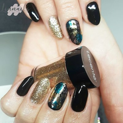 linnails_gold_black