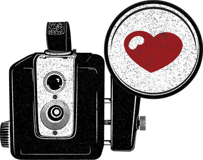 San Antonio Photographer Expose The Heart Camera Logo