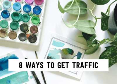 8 ways to get traffic (1)