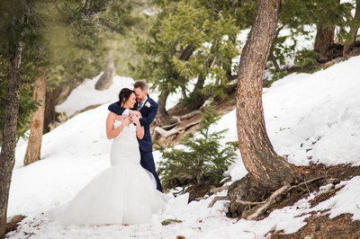 Sapphire Point Winter Wedding