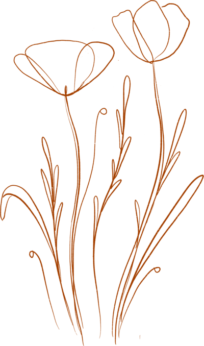 DaniPurington-Flowers-Orange-3-Reversed