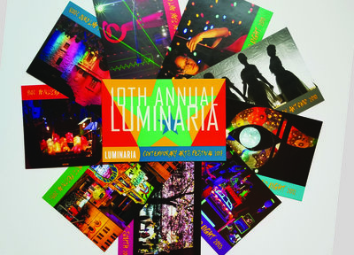 Luminaria Postcards