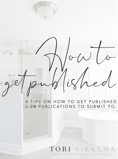 4 Tips on How to Get Published + 28 Publications and How to Submit to Them.