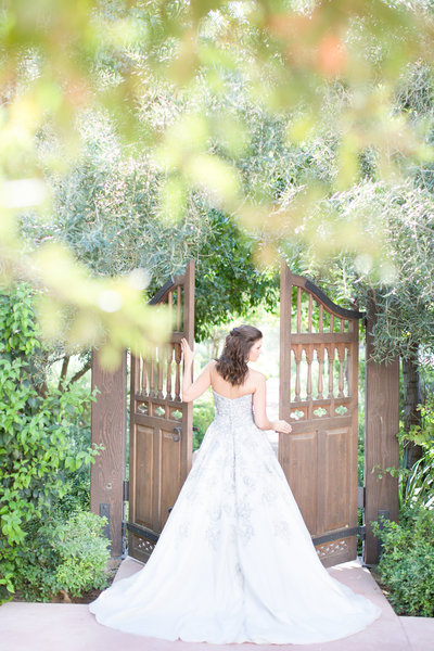 Romantic Blue El Chorro Wedding Paradise Valley, Arizona | Amy & Jordan Photography