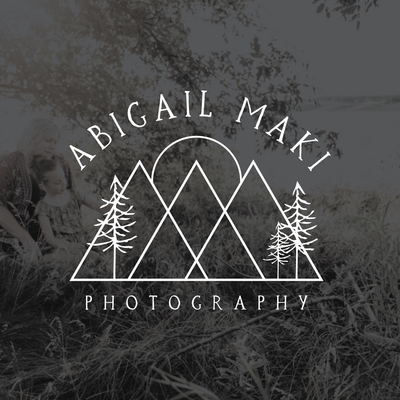 Website Design and Branding for Abigail Maki Photography