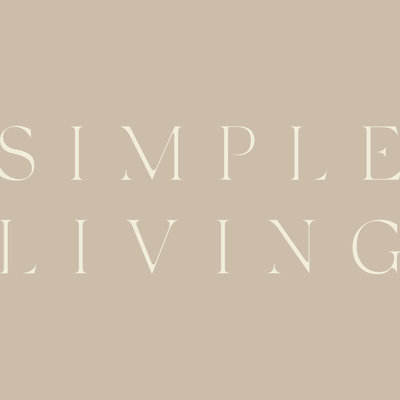 Simple Living Concierge Servieces branding, secondary logo design