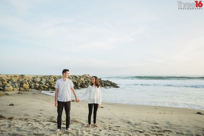 Salt Creek Beach Engagement Photos Dana Point Orange County Weddings Professional