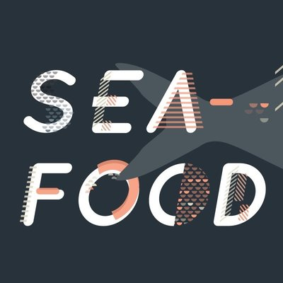 Event branding for Seafood Week by Christie Evenson Design Co.
