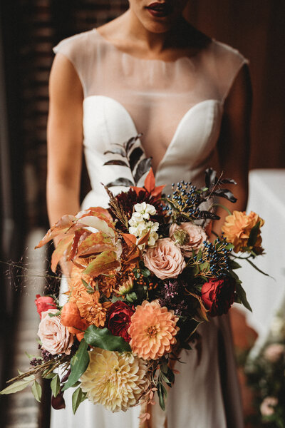 bridal bouquet fall ss