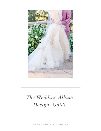 how to design wedding albums