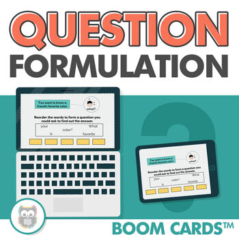 Boom cards: Question formulation
