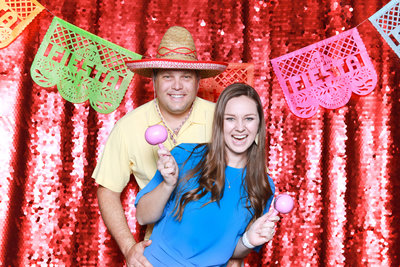 Red Shoes Fiesta San Antonio Photo Booth