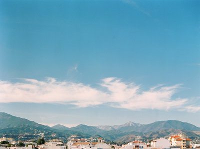 View of the mountains Marbella in Spain