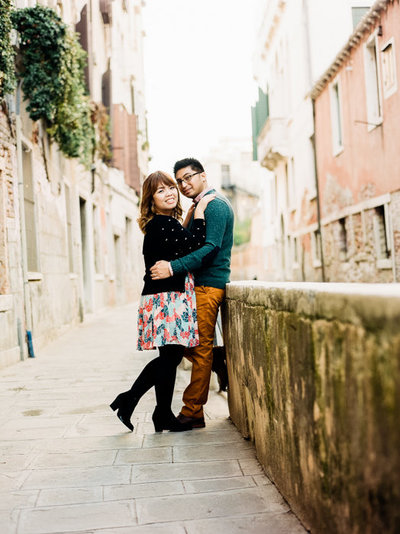Venice Italy Engagement Photos-10