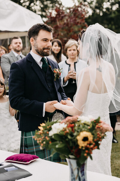 Aberdeen_intimate_wedding_ceremony_garden