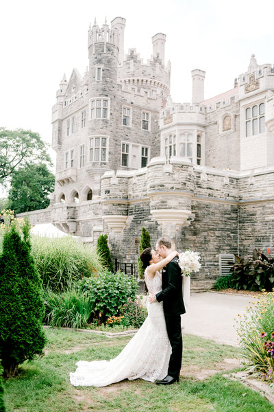 Casa loma castle wedding toronto film photographer