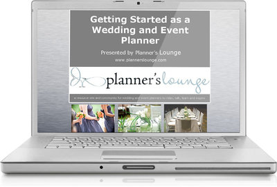 introductory online course wedding planning