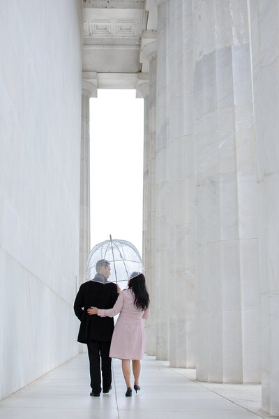 Lincoln Memorial Engagement Photographer(1)