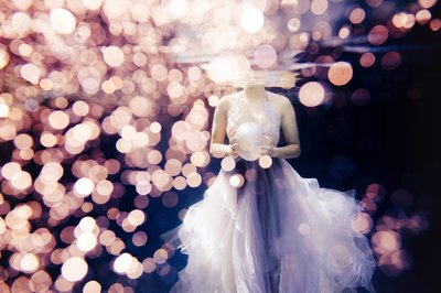 Renee Stengel Photography Charlotte Underwater Fashion Lavender Bridal Gown