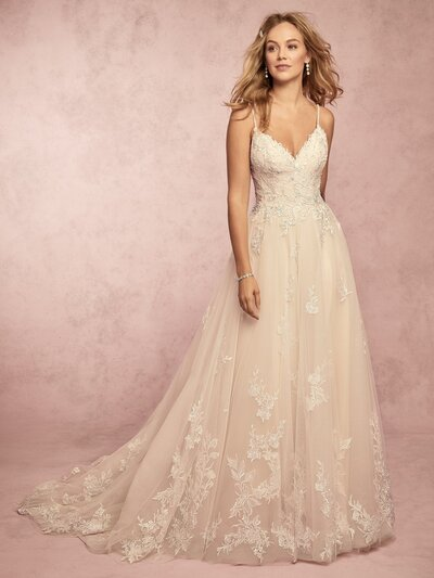 Romantic A-line Tulle Wedding Dress. Hello lovelies. This romantic A-line lace wedding dress is inspired by all things Shakespearean and Valentine-y and happily-ever-after.