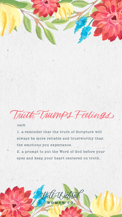Truth Trumps Feelings Definition Lockscren