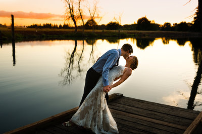 Clarissa Wylde Photography | Oregon adventure wedding on the river