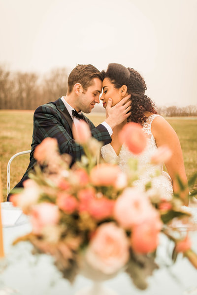 Retro Styled Shoot - Sophia and Andrew - St Louis Wedding Photographer - Allison Slater Photography 221