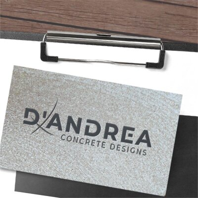 Brand Debut for D'Andrea Concrete Designs