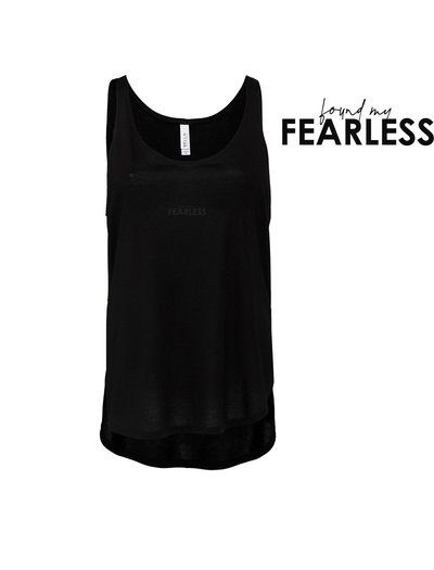 Found My Fearless Black Tank by Find My Fearless