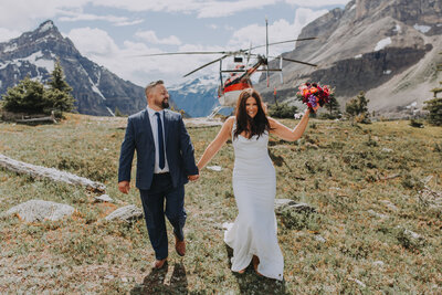 Heli Elopement Coordination by Rocky Mountain Elopements
