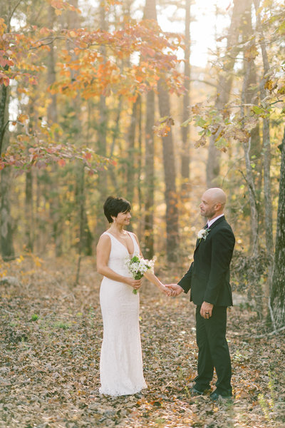 Fall wedding at the Parlour